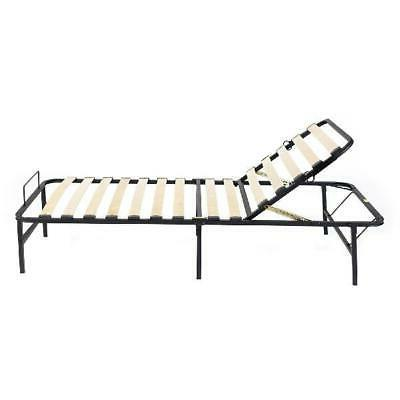 steel bed frame adjustable positions twin xl