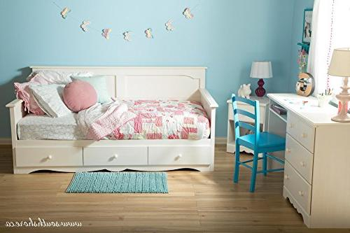 South Shore Daybed Storage 79.5 x 42.8 38 Material: Particleboard, Knob, Metal Laminate