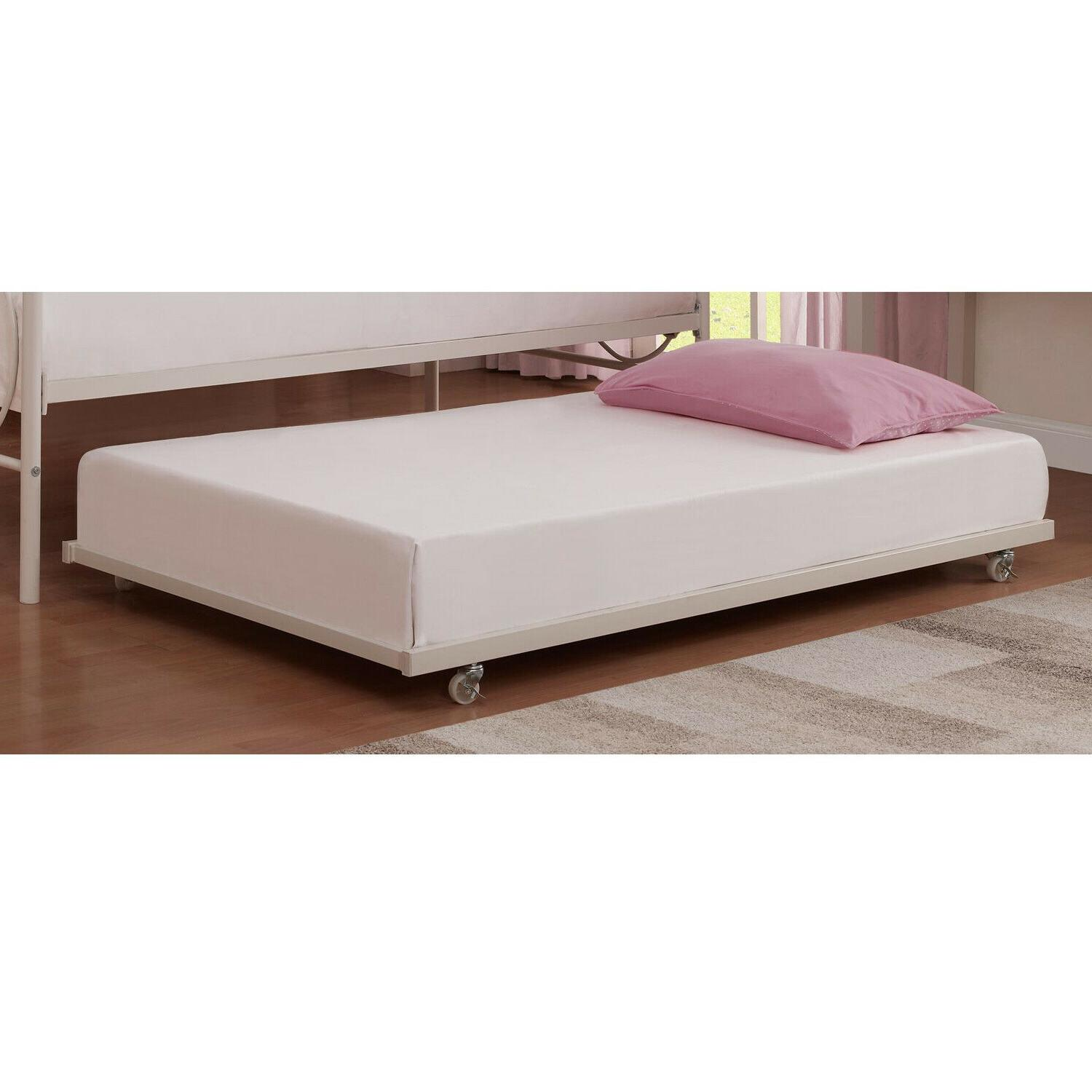 Twin Daybed Out Guest Bed Child Metal White