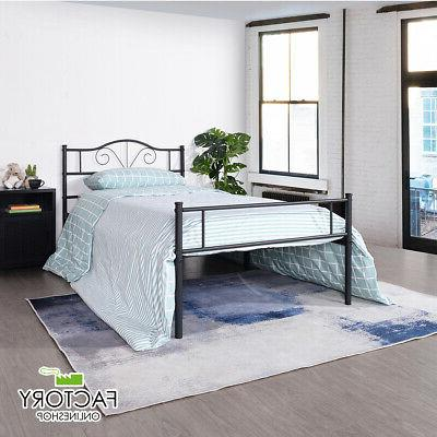 twin full queen size metal bed frame