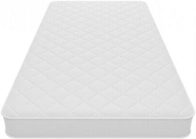 Mattress In a Box 6 Inch Coil Twin Quilted Bunk Day Bed Trun