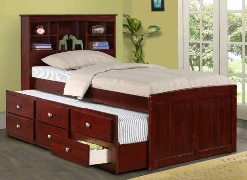 twin or full captain s bed