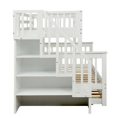 Twin Beds Adult Wood Loft Bed Bed