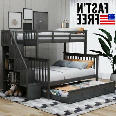 twin over full bunk beds kids adult
