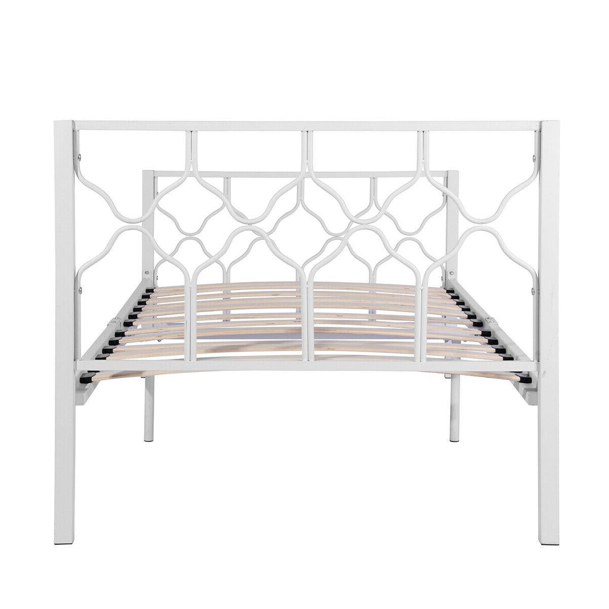 Twin Frame Metal Bed Structure