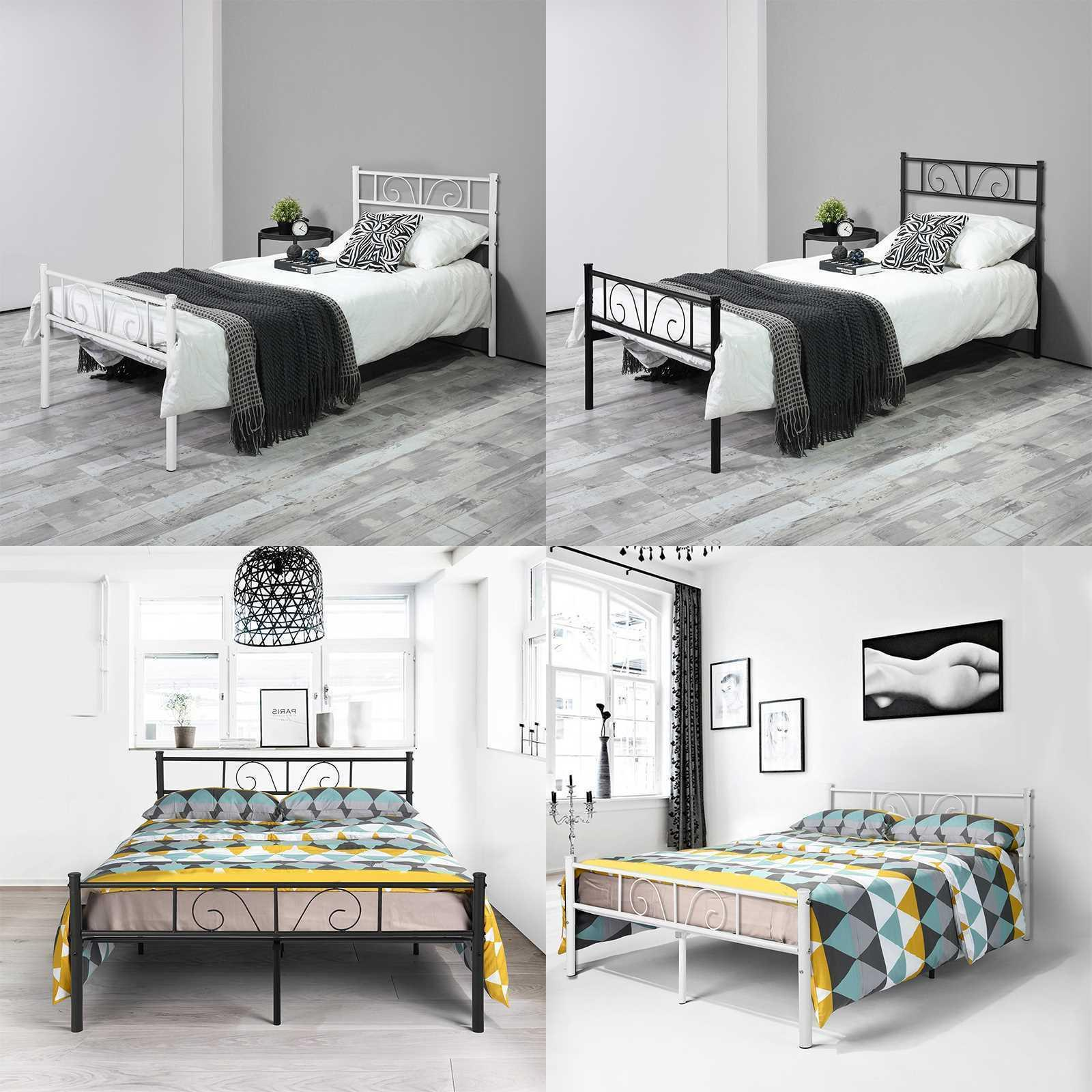 Twin Full Bed Furniture Bedroom Legs