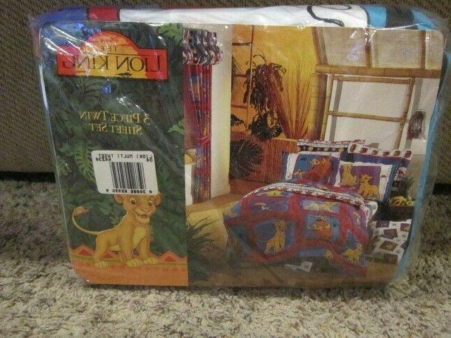 vintage lion king 3 piece twin set