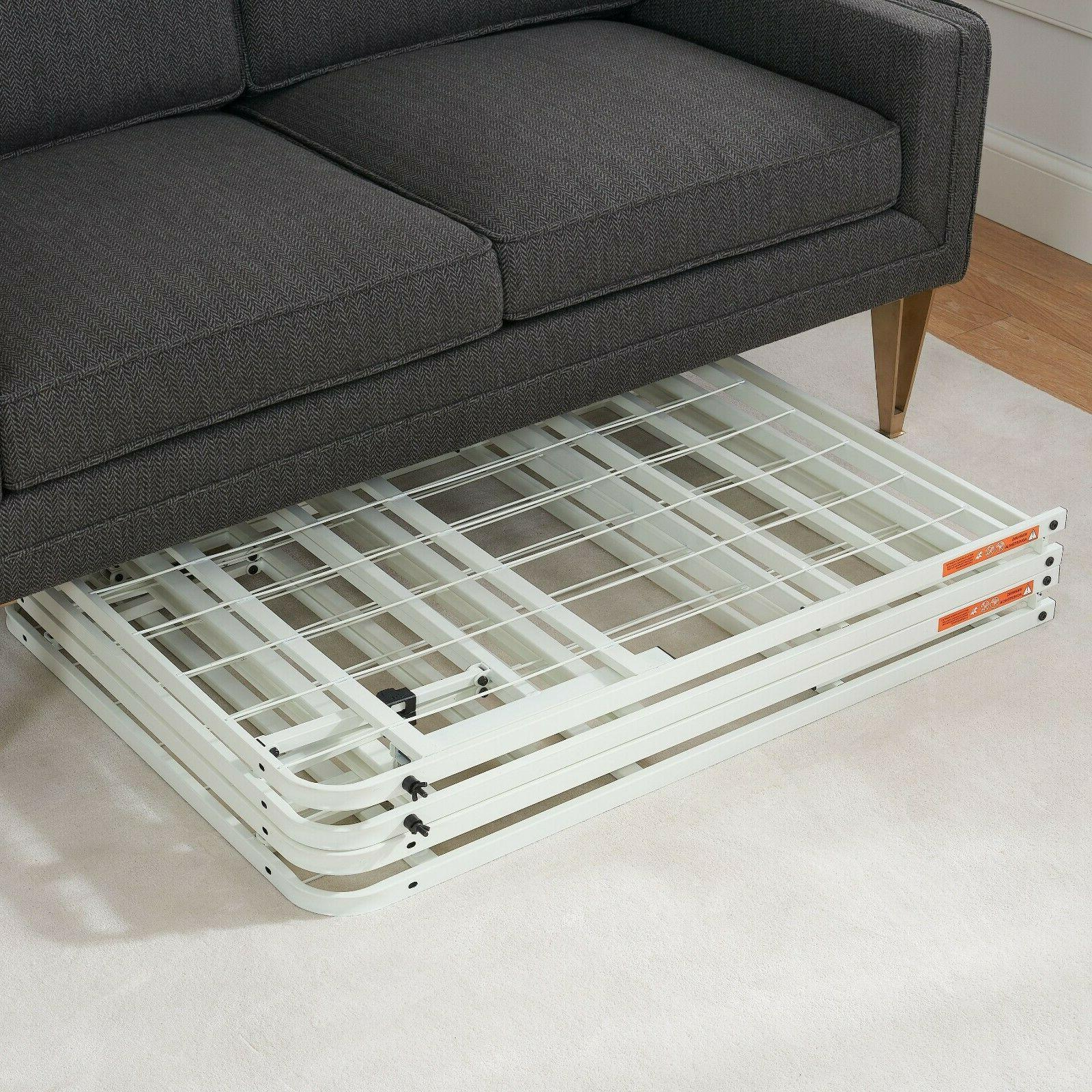 White Platform Size Frame for Mattress