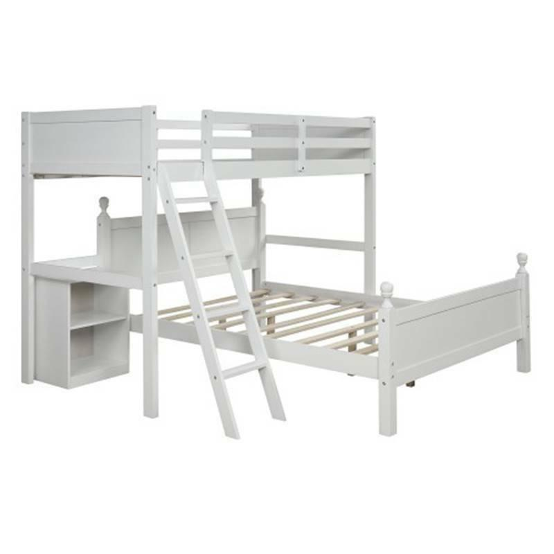 White Twin Bunk Bed Bed Rails