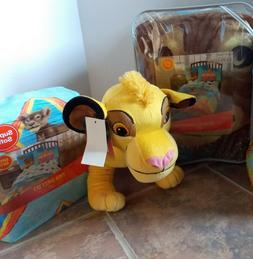 Lion King Twin Microfiber Comforter + Sheet & Pillow Set ~ N