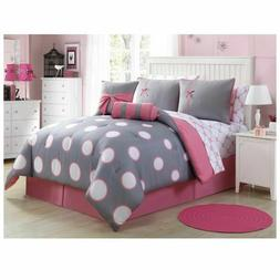 Lush Decor's Serenity Comforter Set 8 Piece Bed In A Bag TWI