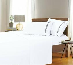 Luxury Hotel Collection 4 Piece Bed Sheet Set Deep Pocket Sh