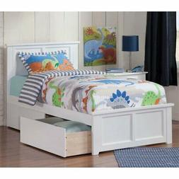 Atlantic Furniture Madison Urban Twin Storage Platform Bed i