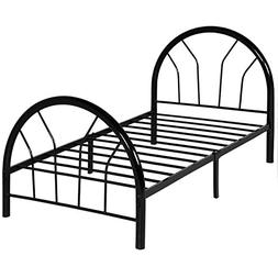 Best Choice Products Metal Bed Frame Set w/ Headboard And Fo