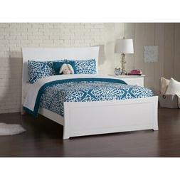 Atlantic Furniture Metro Bed with Matching Foot Board and Op