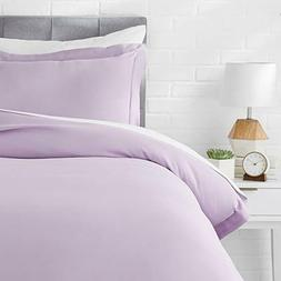 Microfiber Duvet Cover Bed Set, Lightweight and Soft, Twin,