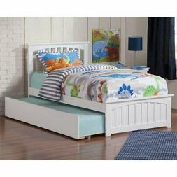 Atlantic Furniture Mission Urban Twin Trundle Platform Bed i