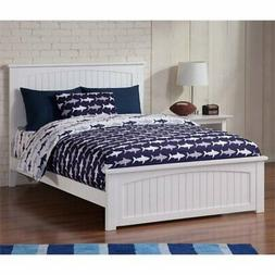 Atlantic Furniture Nantucket Full Panel Bed in White