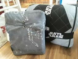 New Star Wars Rebel Twin/ Twin XL 2 PIECE Quilt & Sham AND S