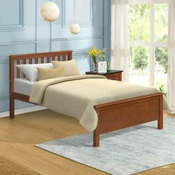 Platform Bed Woodworking Plans Twin Bed Frame Kids Teen Adul