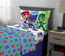 PJ Masks Kids Bedding Soft Microfiber Sheet Set, Twin Size 3