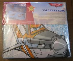 Disney Planes Twin Bed Sheet Set - New