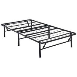 Platform Twin XL Size Bed Frame Metal Steel 14 Inch Home Bed