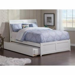 Atlantic Furniture Portland Urban Twin Trundle Platform Bed