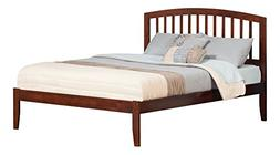 Atlantic Furniture Richmond Queen Platform Bed with Open Foo