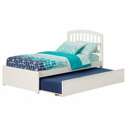 Atlantic Furniture Richmond Twin Platform Bed with Flat Pane