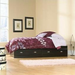 Sauder Shoal Creek Twin Mates Bed with Headboard, Jamocha