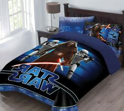 Star Wars The Force Awakens Comforter Set with Fitted Sheet