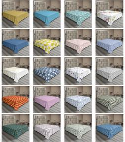 Ambesonne Stars Flat Sheet Top Sheet Decorative Bedding 6 Si