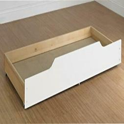 Trundle Storage/Bed Drawer White