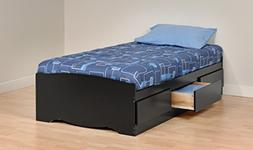 Prepac Twin Platform Storage Bed - BBT-4100-2K