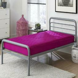 Twin Size 6 Inch Quilted Top Bunk Bed Mattress Comfort Polye