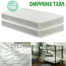 Twin Size Mattress Spring Daybeds Bunk Trundle Bed 2 Pack Ch